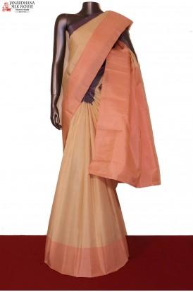 Ganga Jamuna Thread Weave Kanjeevaram Silk Saree