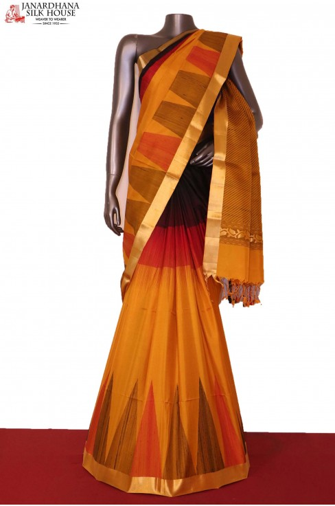 Temple Soft Silk Saree..