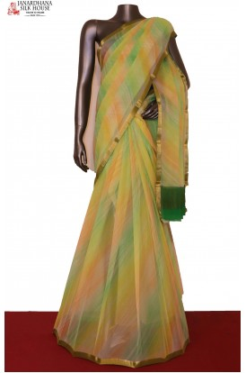 Shaded Exclusive Pure Silk Chiffon