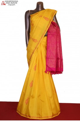 Meenakari Exclusive Kanjeevaram Silk Saree