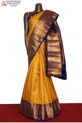 Grand & Exclusive Wedding Handloom Kanjeevaram Silk Saree