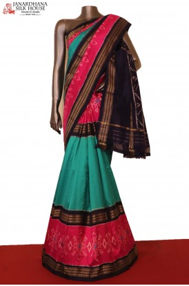 Designer & Exclusive Handloom Pure Ikat Patola Silk Saree