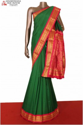Green South Silk Saree