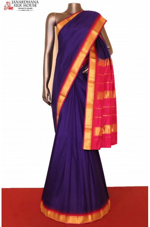 Temple Wedding South Silk Saree