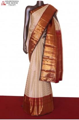Contemporary Bridal Kanchipuram Silk Saree