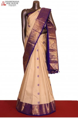 Designer & Grand Peacock Wedding Kanjeevaram Silk Saree