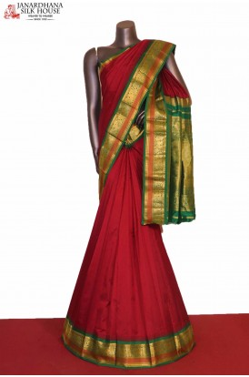 Grand & Traditional Wedding Pure South Silk Saree