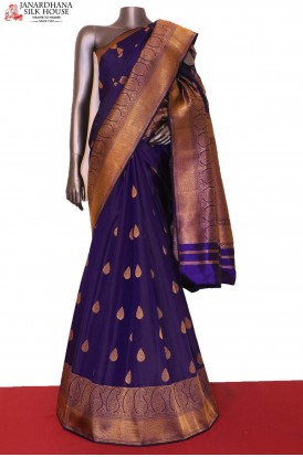 AG206391-Traditional & Exclusive Handloom Kanjeevaram Silk Saree