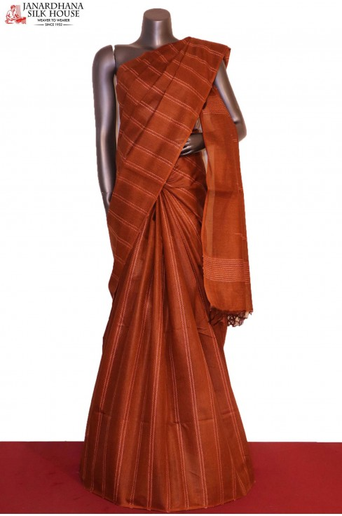 Handloom Exclusive Pure Tussar..