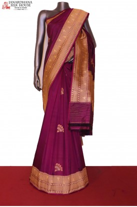AG206825-Designer & Exclusive Handloom Banarasi Silk Saree