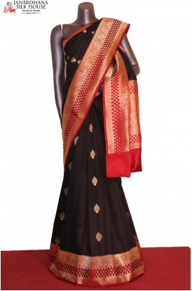 AG206853-Designer & Grand Exclusive Handloom Banarasi Silk Saree