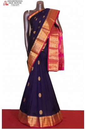 Exclusive Blue South Silk Saree