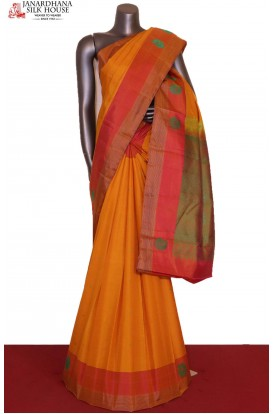 Traditional & Thread Weave Pure South Silk Saree