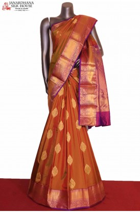 Two Tone Grand South Silk Saree