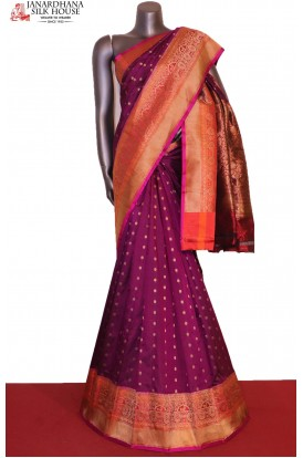 AG207016-Designer & Grand Handloom Banarasi Silk Saree