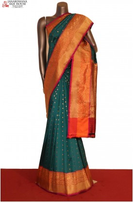 AG207020-Designer & Grand Handloom Banarasi Silk Saree