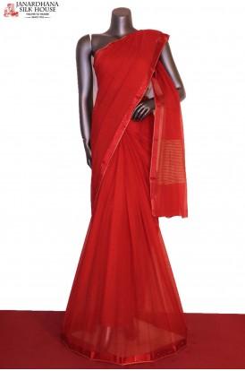 Exclusive & Designer Stone Work Pure Silk Chiffon