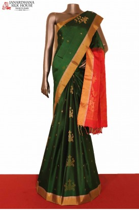 Exclusive Handloom Pure Soft Silk Saree