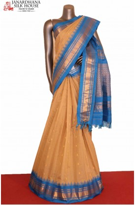 AG207220-Temple & Traditional Handloom Pure Gadwal Silk Cotton