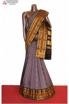 AG207231-Exclusive & Grand Wedding Pure South Silk Saree