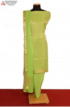 Designer Crepe Silk Suit