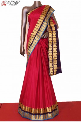 AG207511-Exclusive Pure Mysore Crepe Silk Saree