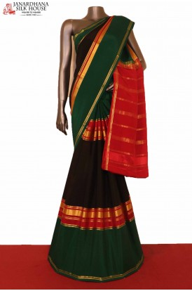 Exclusive Pure Mysore Crepe Silk Saree