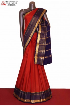 Traditional & Classic Pure Mysore Crepe Silk Saree