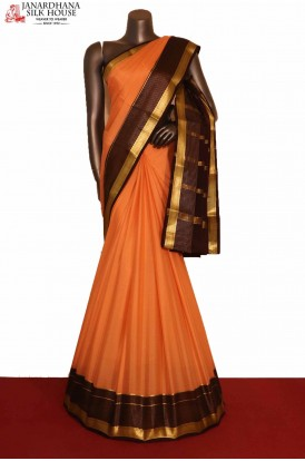 AG207525-Traditional & Classic Pure Mysore Crepe Silk Saree