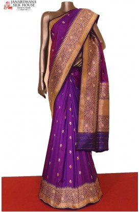 Designer & Grand Meenakari Banarasi Silk Saree
