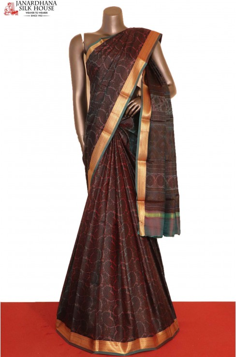 Printed Pure Silk Saree..