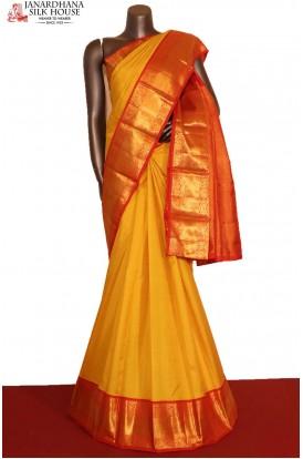 AG207640-Traditional Wedding Kanjeevaram Silk Saree