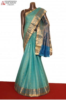 AG207653-Traditional & Classic Wedding Pure South Silk Saree