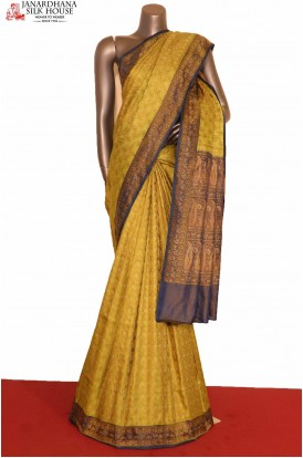 Exclusive Satin Jamawar Tanchoi Silk Saree