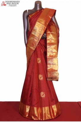 Peacock Grand & Traditional Wedding Kanjeevaram Silk Saree