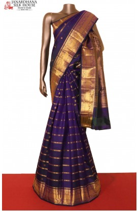 Exclusive & Grand Veldhari Wedding Kanjeevaram Silk Saree