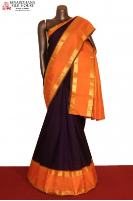 Exclusive Contrast & Traditional Wedding Kanjeevaram Silk Saree