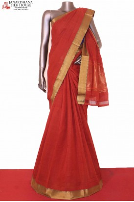 Traditional Pure Cotton Saree