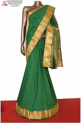 Traditional Green South Silk Saree