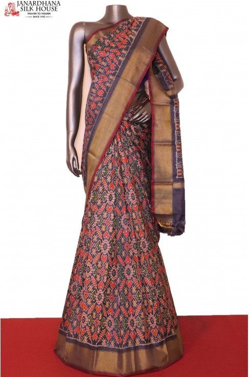 Ikat Patola Silk Saree..