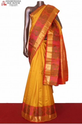Designer Peacock Kanchipuram Silk Saree