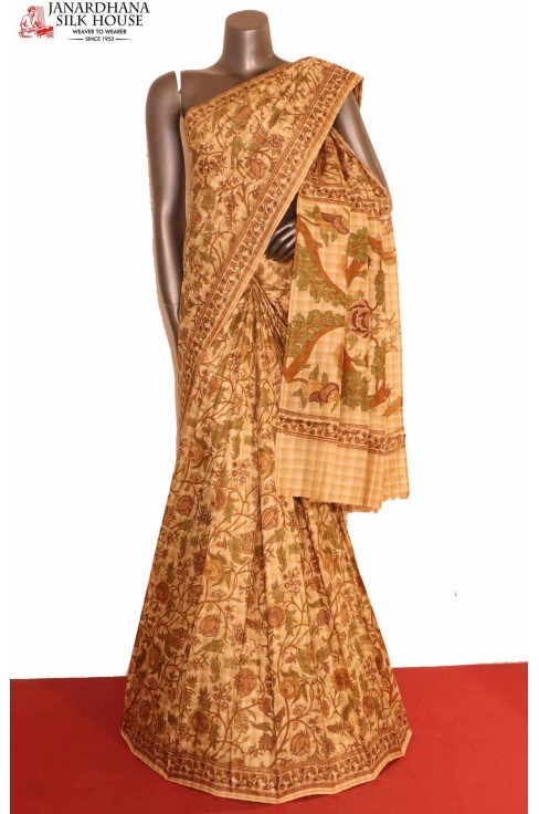 Designer Printed Silk Saree..