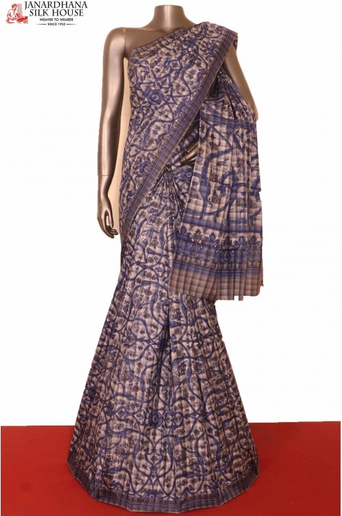 Exclusive Printed Silk Saree..