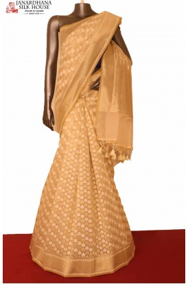 Handloom Banarasi Cotton Saree