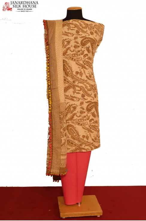 Pure Printed Cotton Suit..