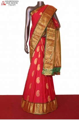 Grand South Indian Pure Silk Saree