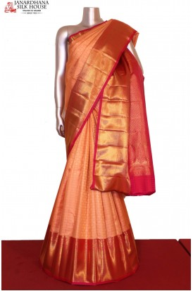 Bridal Wedding Kanjeevaram Silk saree