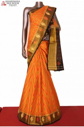 Exclusive Ikat Patola Silk Saree