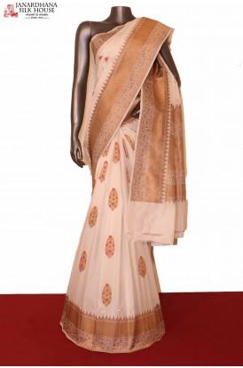 Exquisite Meenakari Banarasi Silk Saree