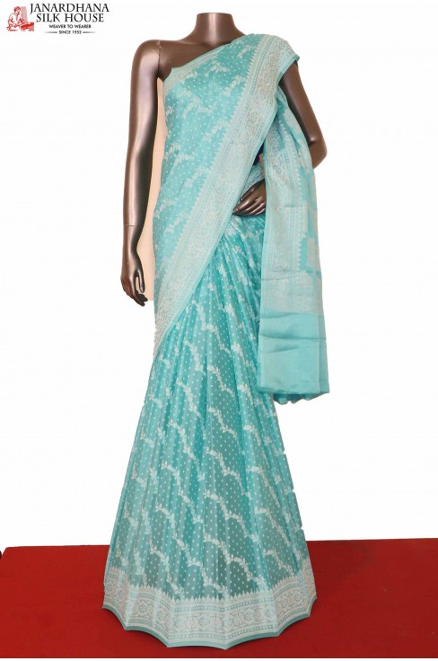 Pure Crepe Silk Saree..